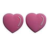 pink hearts, bracket budz pink hearts, BracketEars